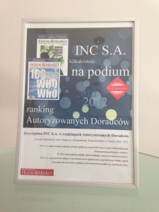 INC na podium rankingu Home&Market