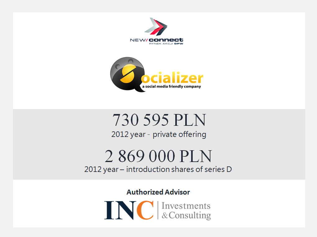 Socializer projekt INC